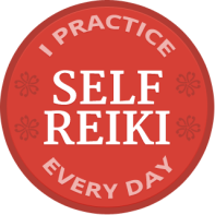 Self-Reiki-Badge